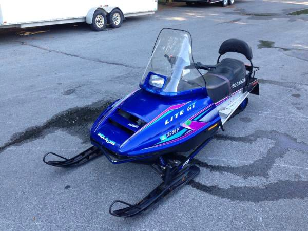1995 Polaris Indy Lite 340 2up