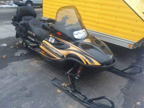 2004 Arctic Cat Pantera 550 2up touring