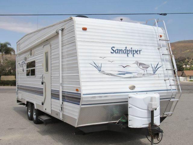 2004 Forest River Sandpiper T25 Toy Hauler