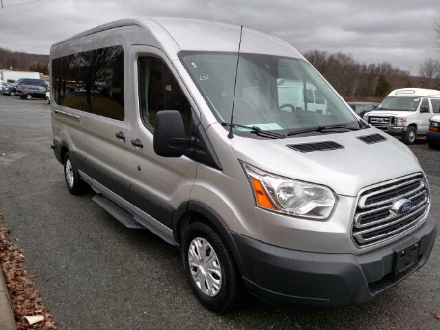 2015 Ford Transit Wagon 350 Xlt 3dr Lwb Medium Roof