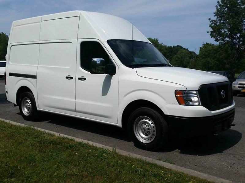 2014 nissan nv cargo 4x2 2500 hd s 3dr cargo van w high roof v8 in monroe ny hershey 39 s auto inc. Black Bedroom Furniture Sets. Home Design Ideas
