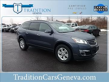 2014 Chevrolet Traverse for sale in Geneva, NY
