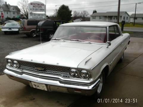 Ford galaxie for sale in ohio for Big blue motor sales ashland