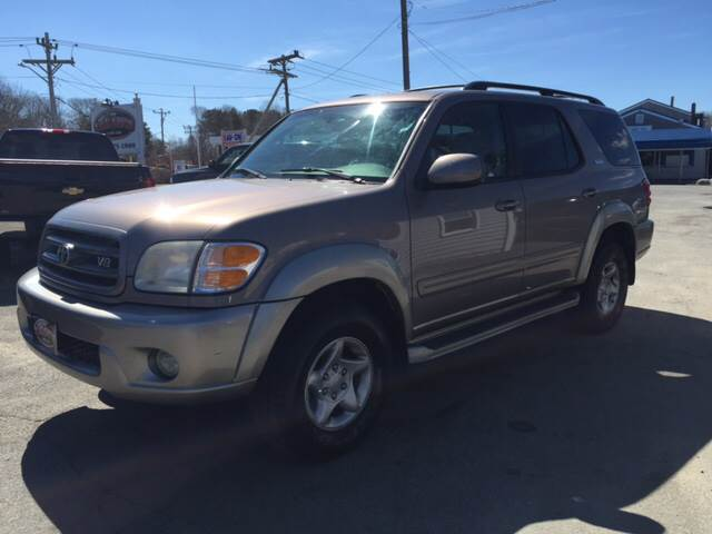 2002 toyota sequoia sr5 4wd 4dr suv in hyannis barnstable brewster the car guys. Black Bedroom Furniture Sets. Home Design Ideas