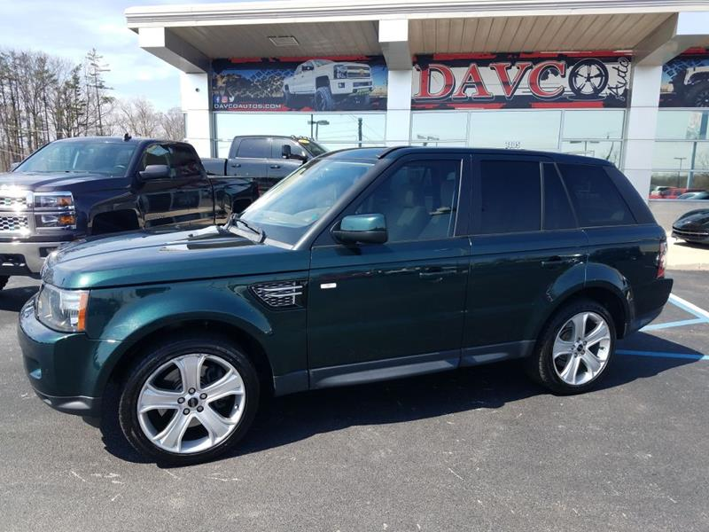 2012 Land Rover Range Rover Sport 4x4 HSE LUX 4dr SUV In Fort Wayne
