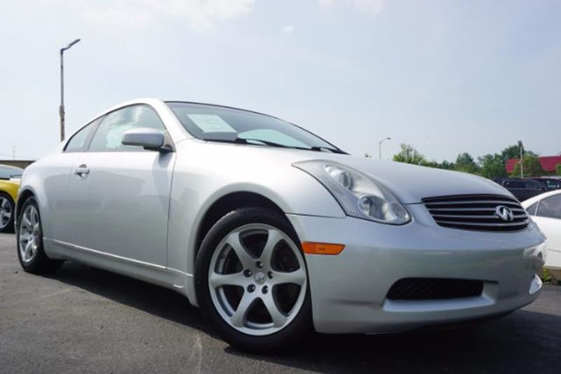 2007 Infiniti G35 2dr Coupe (3.5L V6 5A) - Lexington KY
