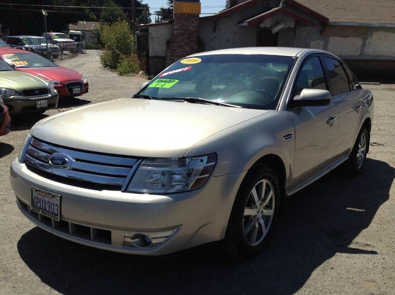 2009 ford taurus sel sel 4dr sedan in riverbank ca c j auto sales. Black Bedroom Furniture Sets. Home Design Ideas