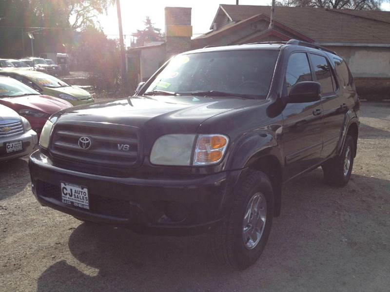 2001 toyota sequoia sr5 4wd 4dr suv in riverbank ca c j auto sales. Black Bedroom Furniture Sets. Home Design Ideas