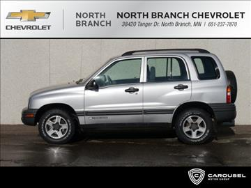 2003 Chevrolet Tracker for sale in North Branch, MN
