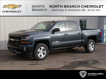 2017 Chevrolet Silverado 1500 for sale in North Branch, MN