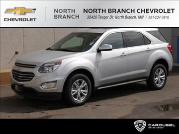 2017 Chevrolet Equinox for sale in North Branch, MN