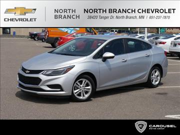 2017 Chevrolet Cruze for sale in North Branch, MN