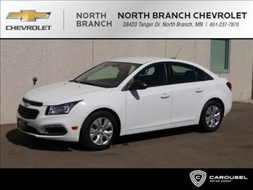 2016 Chevrolet Cruze Limited for sale in North Branch, MN