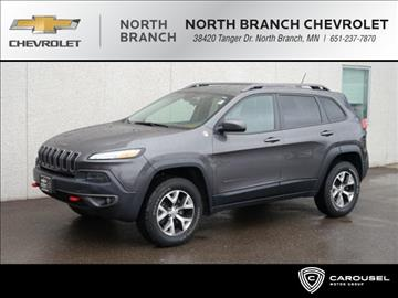 2014 Jeep Cherokee for sale in North Branch, MN