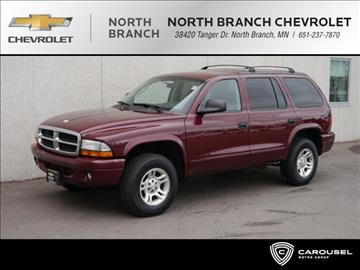 2003 Dodge Durango for sale in North Branch, MN