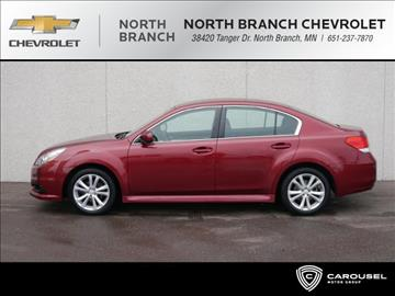 2013 Subaru Legacy for sale in North Branch, MN