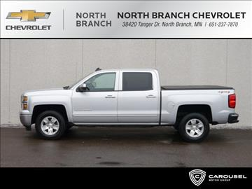 2015 Chevrolet Silverado 1500 for sale in North Branch, MN
