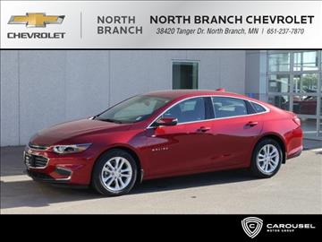 2017 Chevrolet Malibu for sale in North Branch, MN