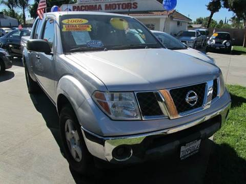 2006 nissan frontier for sale in california. Black Bedroom Furniture Sets. Home Design Ideas