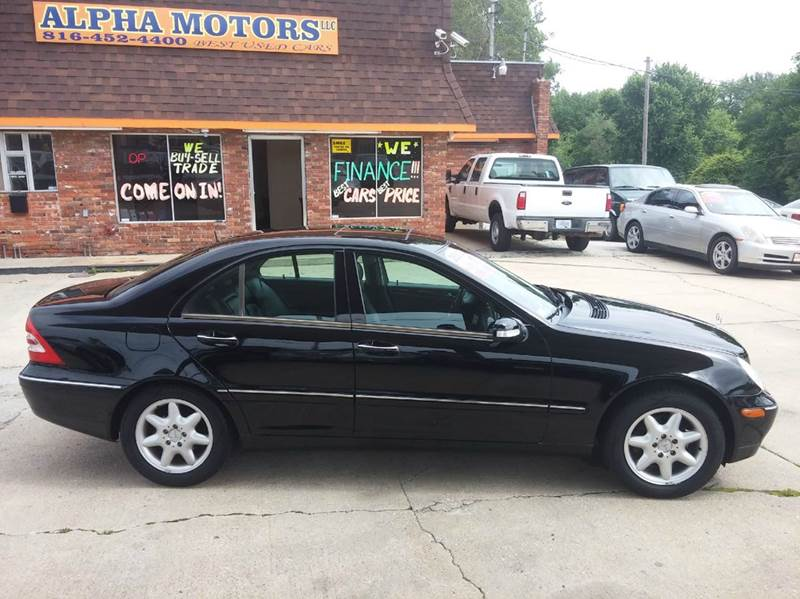 2002 mercedes benz c class c240 4dr sedan in kansas city. Black Bedroom Furniture Sets. Home Design Ideas