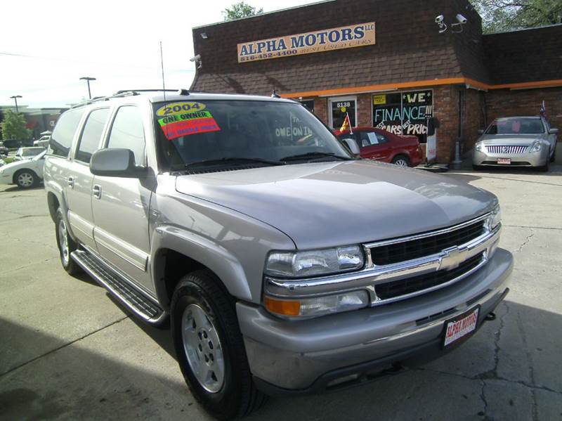 2004 chevrolet suburban 1500 lt 4wd 4dr suv in kansas city. Black Bedroom Furniture Sets. Home Design Ideas
