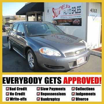 2011 Chevrolet Impala for sale in Modesto, CA