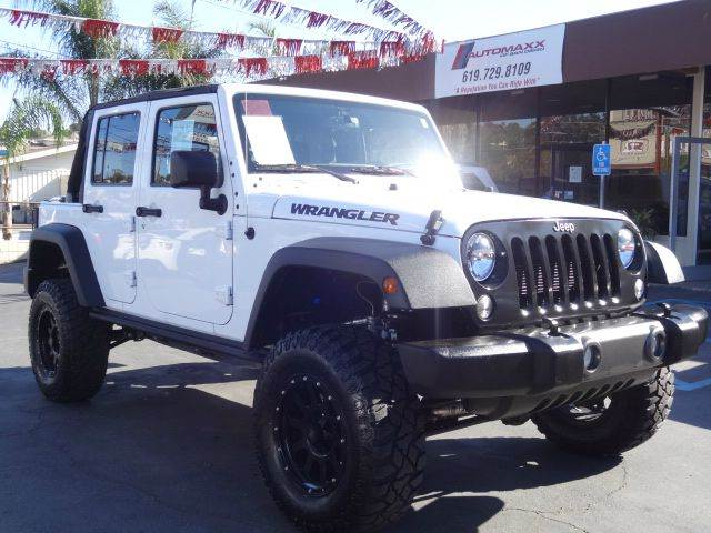 2016 Jeep Wrangler Unlimited 4x4 Black Bear 4dr SUV - Spring Valley CA