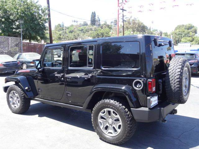 2015 Jeep Wrangler Unlimited 4x4 Rubicon 4dr SUV - Spring Valley CA