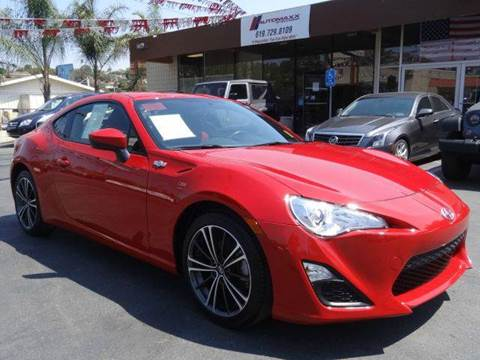 2015 Scion FR-S for sale in Spring Valley, CA