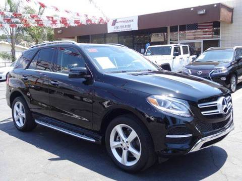2016 Mercedes-Benz GLE for sale in Spring Valley, CA
