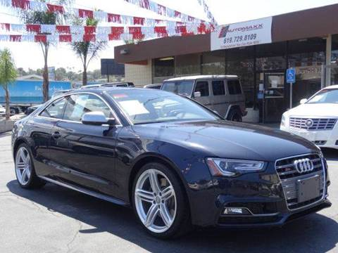 2013 Audi S5 for sale in Spring Valley, CA