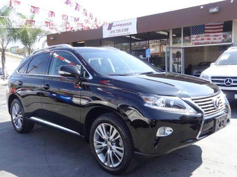 2013 Lexus RX 350 for sale in Spring Valley, CA