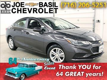 2017 Chevrolet Cruze for sale in Depew, NY