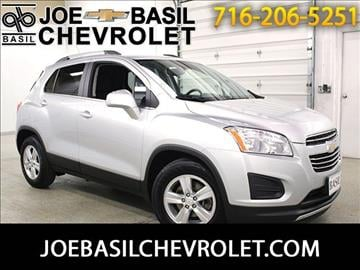 2015 Chevrolet Trax for sale in Depew, NY