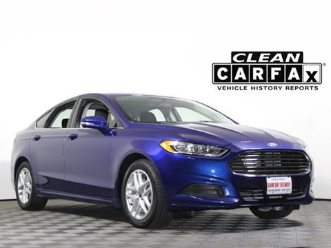 2014 Ford Fusion for sale in Cheektowaga, NY