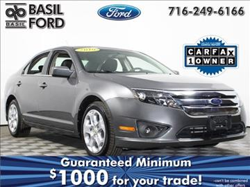 2010 Ford Fusion for sale in Cheektowaga, NY