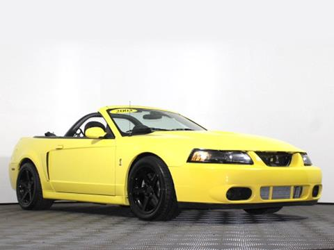 2003 Ford Mustang SVT Cobra for sale in Cheektowaga, NY