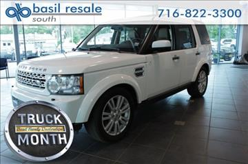2011 Land Rover LR4 for sale in Buffalo, NY