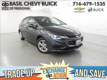 2017 Chevrolet Cruze for sale in Fredonia, NY