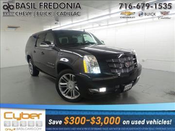 2014 Cadillac Escalade ESV for sale in Fredonia, NY