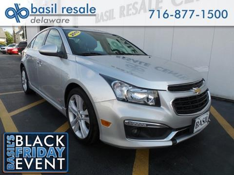 2015 Chevrolet Cruze for sale in Buffalo, NY