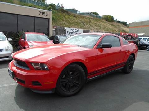 2012 Ford Mustang for sale in San Diego, CA
