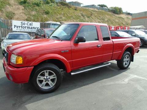 2004 Ford Ranger for sale in San Diego, CA