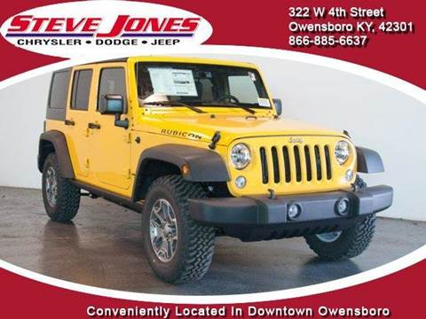 2015 Jeep Wrangler Unlimited for sale in Owensboro, KY