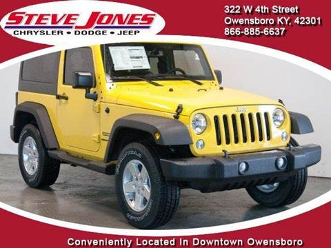 2015 Jeep Wrangler for sale in Owensboro, KY