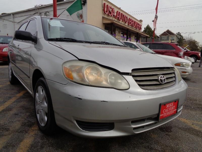 Used 2003 Toyota Corolla For Sale In Texas Carsforsale Com