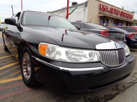 1998 Lincoln Town Car for sale in Houston, TX