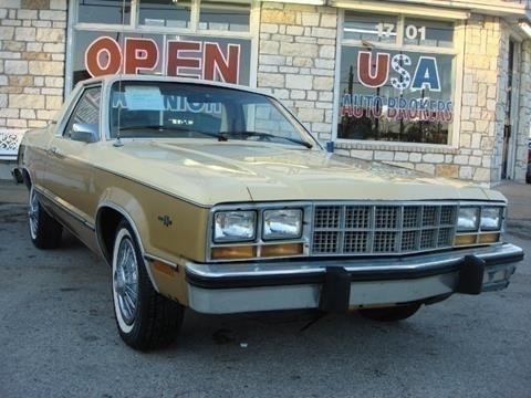 Ford Fairmont For Sale >> 1981 Ford Fairmont For Sale In Houston Tx