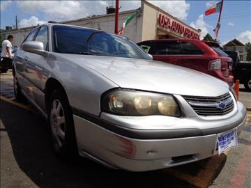 2004 Chevrolet Impala for sale in Houston, TX