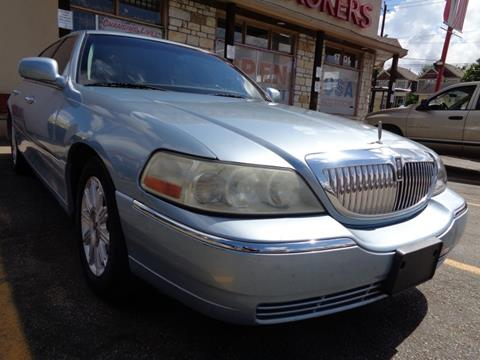 2008 Lincoln Town Car for sale in Houston, TX